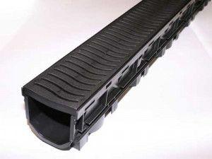 Flo Safe - Domestic Drainage Channel - Plastic (Heel Safe) - 1000mm
