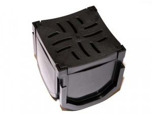 Flo Safe - Domestic Drainage Quad Box - Plastic (Heel Safe)