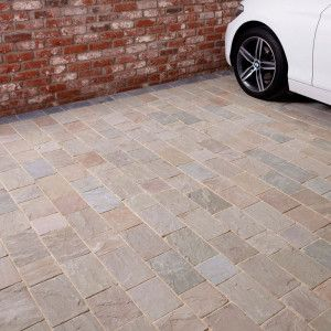 Natural Paving - Fossestone - Block Paving - Forest - Project Pack
