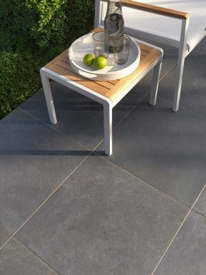 Stonemarket - Fortuna Vitrified Paving - Grey - 595 x 595mm