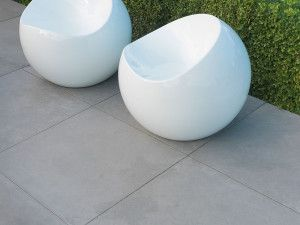 Stonemarket - Fortuna Vitrified Paving - Silver - 595 x 595mm