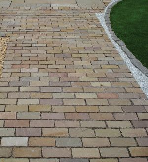 Global Stone - Pathway Setts - Autumn Blend - 200 x 100mm