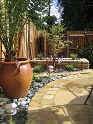 Global Stone - Sandstone Collection - York Green - Circles