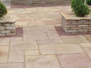 Global Stone - Old Rectory - Modak Rose - Circles