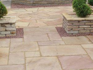 Global Stone - Old Rectory - Modak Rose - Circles