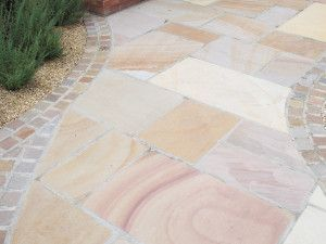 Global Stone - Sandstone Collection - Buff Brown - Single Sizes