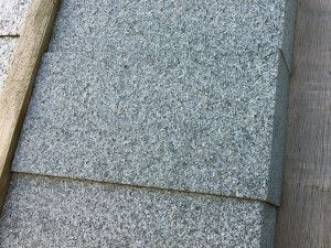Sawn Granite Setts (Cobbles) - Dark Grey