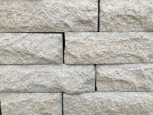 Pitched Face Walling Blocks - Natural Grey