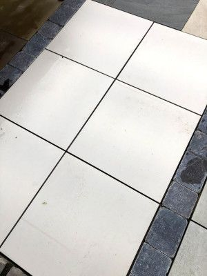 Vitrified Porcelain Paving - Bianca - 600 x 600mm