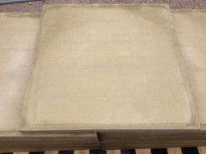 Cheap Paving Slabs - Smooth - Buff - 600 x 600mm