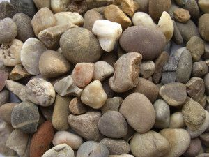 Quartz Gravel Pebbles - 20mm