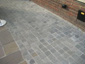 Indian Sandstone Cobbles (Setts) - Kandla Grey - 100 x 100mm