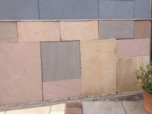 Indian Sandstone slabs - Autumn Brown - Patio Pack