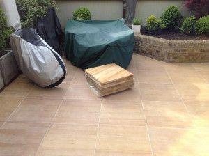 Indian Sandstone Paving - Polished Teak - Patio Pack