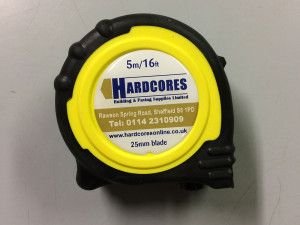 Hardstone - Tape Measure - 5m - 16ft