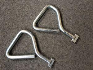 Manhole Covers - Lifting Keys Pair - Steel - Heavy Duty