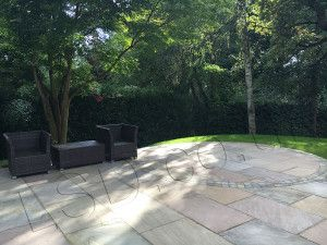 Raj Green Indian Sandstone Paving - Patio Pack