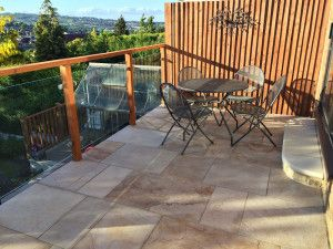 Natural Sandstone Paving - Imperial Cream - Single Sizes