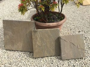 Natural Indian Sandstone - Raj Green - Walling Pier Caps
