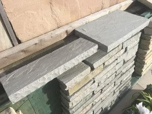 Natural Indian Sandstone Copings - Kandla Grey