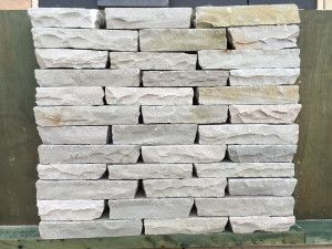 Indian Sandstone Walling - Hand Cut - Kandla Grey Blocks