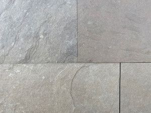 Indian Limestone Paving - Sawn Kurnool Grey - Calibrated - Patio Pack