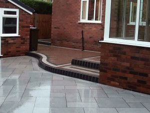 Natural Granite Paving - Light Grey - Patio Pack