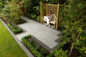 Marshalls - Eclipse Natural Granite Paving - Dark - Project Pack