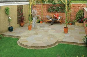 Marshalls - Fairstone Antique Alverno Garden Paving - Autumn Bronze Multi - Project Pack