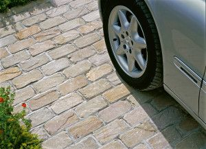 Marshalls - Fairstone Natural Stone Setts - Split and Tumbled - Autumn Bronze - Singles Sizes