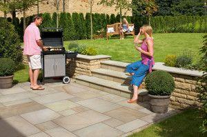 Marshalls - Fairstone Sawn Versuro Garden Paving - Autumn Bronze Multi - Project Pack