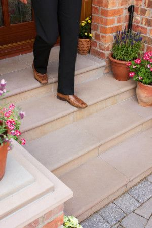 Marshalls - Fairstone Sawn Versuro Steps - Autumn Bronze