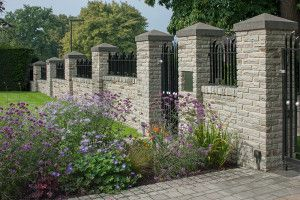 Marshalls - Fairstone Traditional Stone Walling - Silver Birch - Pitched