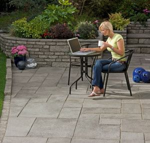 Marshalls - Firedstone Paving - Dusk - Patio Pack