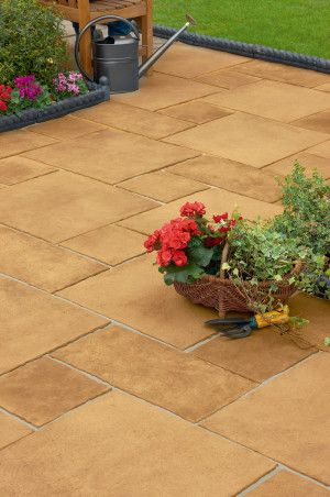 Marshalls - Firedstone Paving - Sunrise - Patio Pack