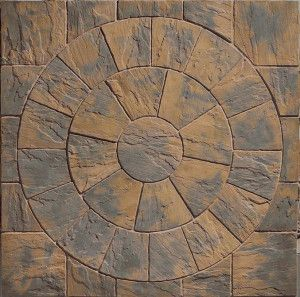 Marshalls - Heritage Paving - Circle - Calder Brown