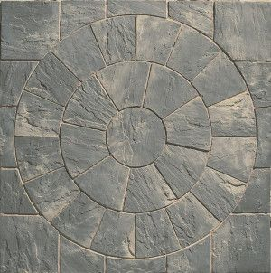 Marshalls - Heritage Paving - Circle - Old Yorkstone