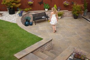 Marshalls - Heritage Paving - Weathered Yorkstone - Single Sizes