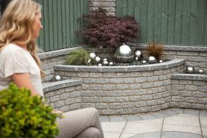 Marshalls - Marshalite Walling - Rustic - Ash Multi Walling Blocks