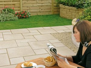 Marshalls - Saxon Paving - Natural - Pressed Concrete - Single Sizes