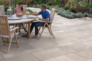 Marshalls - Natural Sandstone Towngate Garden Paving - Brown Multi - Project Pack