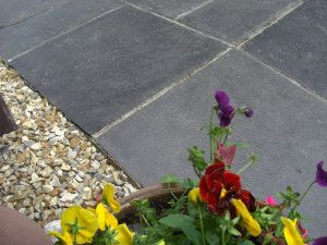 Castacrete - Indian Limestone Paving - Kota Black - Single Sizes - Calibrated