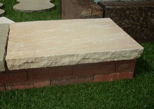 Natural Indian Sandstone Copings - Mint Fossil