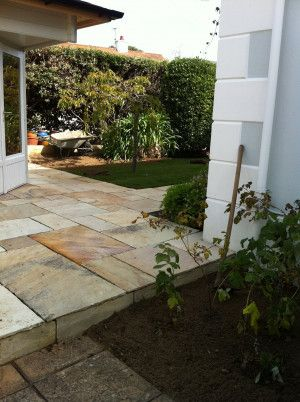 Castacrete - Indian Sandstone Paving - Mint Fossil - Patio Pack - Calibrated