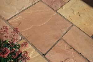 Indian Sandstone Paving - Modak - Single Sizes - Calibrated