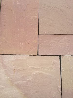 Indian Sandstone Paving - Modak / Modac - Patio Pack