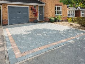 Bradstone - Block Paving - Monksbridge - Grey-Green - Mixed Pack