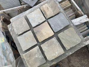 Global Stone - Pathway Setts - Monsoon Black - 150 x 150mm