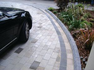 Natural Paving - Fossestone - Midnight Blue - Multi Purpose Kerb
