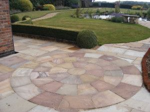 Natural Paving - Classicstone - Harvest - Circles